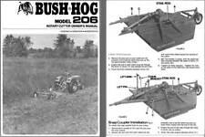 Bush Hog Model 206 Rotary Cutter Owners Manual