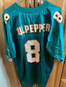 Reebok Daunte Culpepper Miami Dolphins On-Field Jersey XL NWT