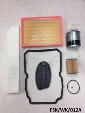 Filters Service KIT Jeep Grand Cherokee WK 3.0CRD 2005-2010 W5A580  FSK/WK/012A