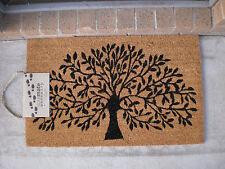 Tree Of Life - Natural Coir On PVC Backing Door Mat