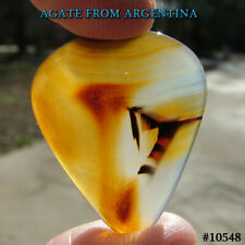 AGATE FROM ARGENTINA stone Guitar PICK   Gem #10548