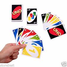 Uno Game Original Card New Vintage Cards Score Complete Toy Box Games Kids PRO