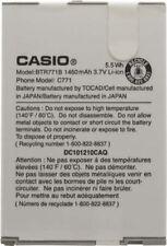 NEW OEM Battery Casio BTR771B For Casio Casio G'zOne Commando C771