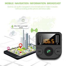 Wireless Bluetooth Car Kit FM Transmitter Radio MP3 Player/USB Charger Handsfree