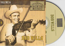 CD CARDSLEEVE 25T BOB WILLS BEST OF 2002 LES TRIOMPHES DE LA COUNTRY
