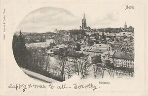 a switzerland old picture postcard foreign europe bern sudseite