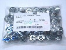 LOT OF 48 MISUMI HPH25-16 CONVEYOR WHEELS PRESSED / MACHINED 25.4MMX10MM