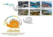 TURKEY / 2019 - (FDC) Cittaslow-2 (City View), MNH, Mi: 4551-4556