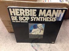 Herbie Mann Be Bop BEBOP Synthesis SAVOY Sessions vinyl LP EX 1976