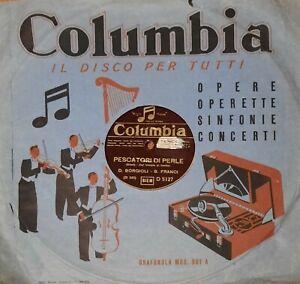Lotto di 4 dischi 78 giri (Columbia, Odeon, Cetra, Fonit)