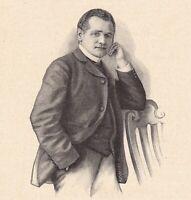 Portrait Raoul Samuel Gunsbourg Bucarest Roumanie Opéra Monte Carlo Monaco