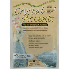 Crystal Accents Aquamarine Water Storing Gel - Makes approximately 8.5 Pints