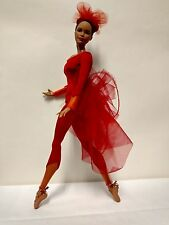"Misty Copeland - ballerina Barbie doll - fully articulated - ""Firebird"" costume"
