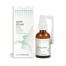 Gola Silver 30ml - Spray gola con Argento Colloidale Santè Naturels