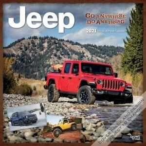 Jeep Wall Calendar