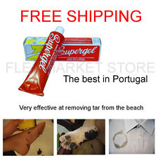 stain remover supergel tar beach dirt oil blood wine shirt Clothes ink varnish