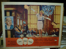 ONE TWO THREE orig 1962 LC #8 (Lilo Pulver dances on table in Billy Wilder film)