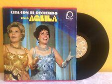 HERMANAS AGUILA CITA CON EL RECUERDO MEXICAN 3 x LP RANCHERAS