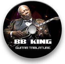Bb King Blues Guitar Tab Tablature Song Book Anthology CD