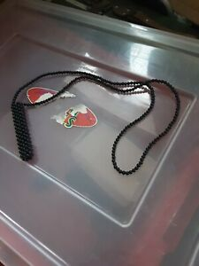 Bead Like Tie Necklace