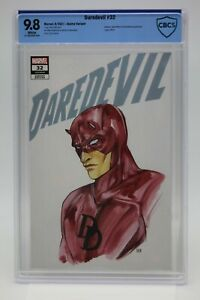 Daredevil (2019) #32 Peach Momoko Anime Variant CBCS 9.8 Blue Label White Pages