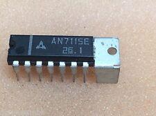 1 pc. AN7115E  Matsushita Panasonic Audio Amplifire  DIP14  NOS