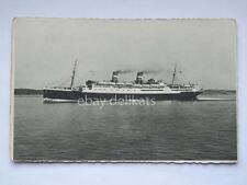 LLOYD SABAUDO nave ship CONTE GRANDE paquebot liner vecchia cartolina