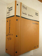 CASE 780E & LL LOADER LANDSCAPER BACKHOE OEM 1986 SERVICE MANUAL