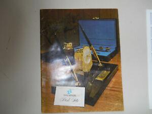 Sheaffer's Vintage l967 Desk Set Catalog--28 pages
