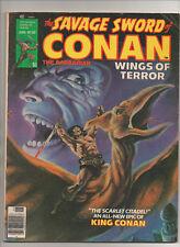 Savage Sword Of Conan #30 - Pterodactyl Cover - (Grade 5.0/6.0) 1978