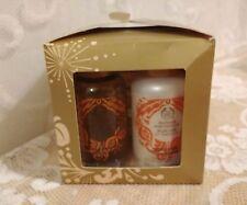 The Body Shop Nutmeg and Vanilla Soap 3.5oz; Body Lotion 2oz; Shower Gel 2oz.