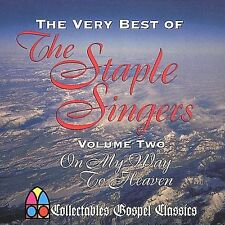THE STAPLE SINGERS -The Very Best of Vol 2 On My Way To Heaven- New Sealed CD