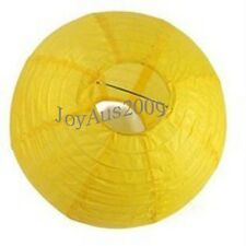 12x yellow paper lanterns for engagement wedding party home decoration
