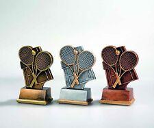 15 Tennis Figuren Resin Schläger (Turnier Jubiläum Pokal Pokale Gravur Medaille)