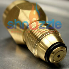Brass Propane Refill Adapter Lp Gas Cylinder Tank 1 LB small attachment coupler