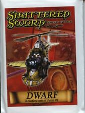 Shattered Sword Dwarf Reinforcement Pack #1 MINT Fantasy Battle Card Game
