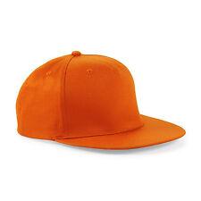Cappellino Arancione Beechfield B610 modello Rap Snapback