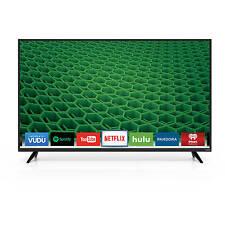 "Vizio D50-D1 50"" 1080P HD Smart LED TV Built-in Wi-Fi 3xHDMI 2x10W speakers"