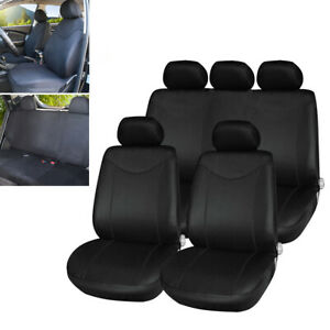 Car Seat Cover Single Sided Mesh Front & Rear Full Set Universal for 5-Seats Car