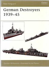 Osprey Vanguard 91, German Destroyers 1939-45,  Softcover Reference VF ST