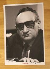 ORIGINAL Autogramm von Egon Bahr. pers. gesammelt u. 100 % ECHT. GROSSFOTO