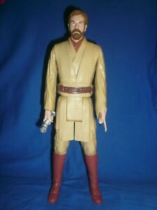 "Star Wars Revenge Of The Sith Obi Wan Kenobi 11.5"" Loose Figure Ewan McGregor"