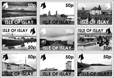 "GB Local stamps: Isle of Islay (2018): ""Islay in monochrome"" set"