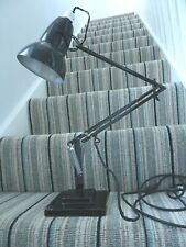 Original Vintage Herbert Terry & sons Anglepoise lamp 1227 Black 2 step base