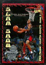 Steve Francis Slam Show 2000-01 Ultra Basketball Card #SS1 Houston Rockets