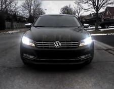 VW Passat B7 2010-2014 Pair Bulbs H7 LED Low Beam Halogen 72W 8000Lm White 6000K