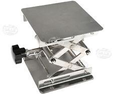 10X10cm Lab-Lift Lifting Platforms Stand Rack Scissor Stainless Steel Jiffy Jack