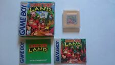 DONKEY KONG LAND CIB GAME BOY GB GBA GAMEBOY USA.