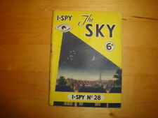 """I-SPY No 28 """"THE SKY"""" PRICE MARKED 6 OLD PENCE 1961 EDITION"""