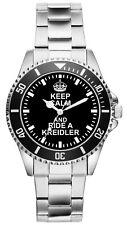 Geschenk für Kreidler Moped Mofa Fahrer Fans Kiesenberg Uhr 2780
